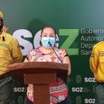Dos incendios forestales azotan a Santa Cruz y a eso se suman 46 focos de quema